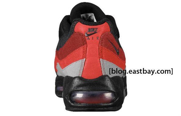 cheap for discount c3b5d 0811e NIKE AIR MAX 95 BLACK GREY-VARSITY RED   Soleology